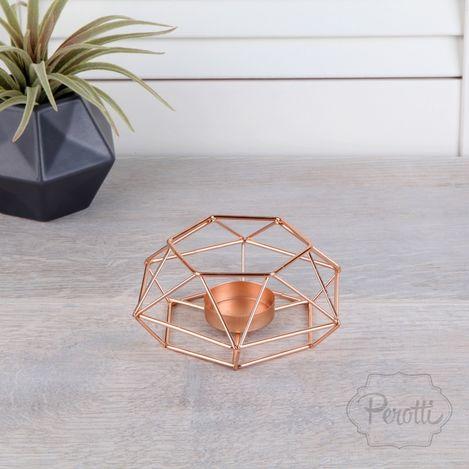 Resim  Perotti Metal Piramit Mumluk - Asorti