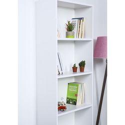 Just Home Zeugma 5 Raflı Kitaplık - Beyaz