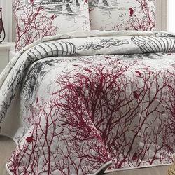 Eponj Home Palvin Çift Kişilik Yatak Örtüsü Takımı - Beyaz