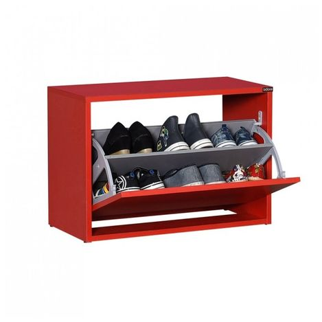 Resim  Adore New Step Oturaklı Ayakkabılık - Kırmızı