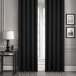 Melodie Blackout Fon Perde (Lacivert) - 145x250 cm