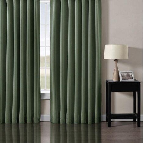 Premier Home Blackout Fon Perde (Yeşil) - 140x270 cm