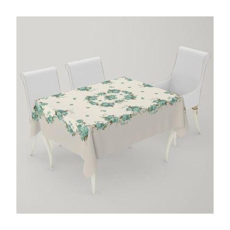 Resim  Premier Home Masa Örtüsü (Güllü Yeşil) - 140x170 cm