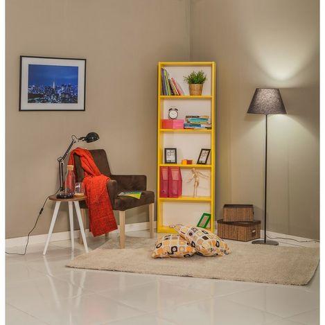 Resim  Mobetto Rio Large Kitaplık - Sarı