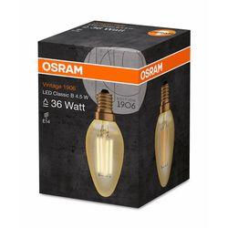 Osram Vintage 1906 Led Cl B  Fıl Gold 36 Non-Dim  4,5W/825 E14 Ampul