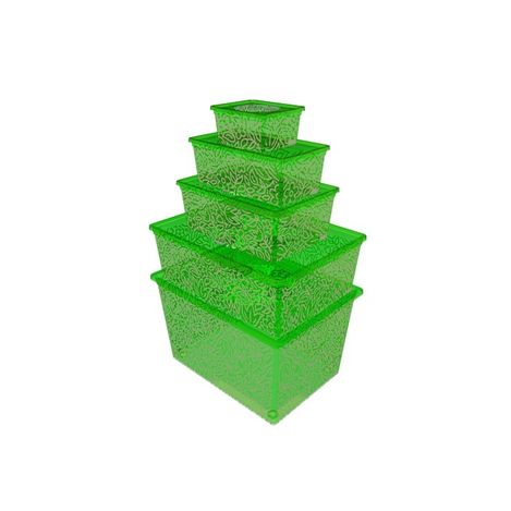Resim  Qutu Lıght Box Fluorescent Green 5'Li Kutu