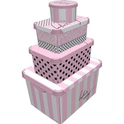 Style Box Lady'S Secret 4 ' lü Kutu
