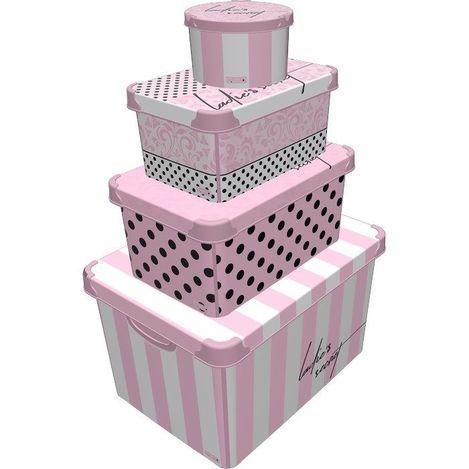 Resim  Style Box Lady'S Secret 4 ' lü Kutu