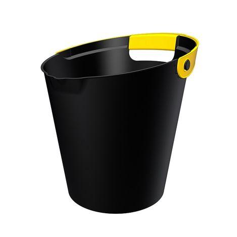 Qutu Bucket Black Sarı Kova - 10 Lt
