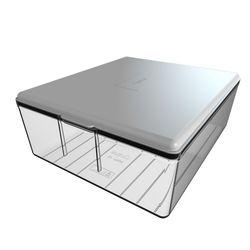 Q-Fridge Box Transparent White Buzdolabı Kutusu
