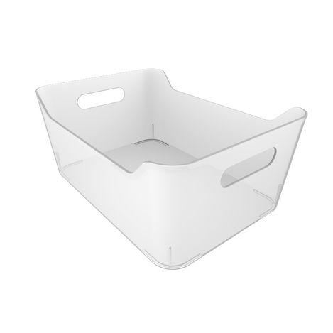 Q-Fridge Basket Transparent Buzdolabı Sepeti