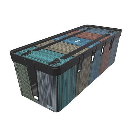 Resim  Qutu Center Colored  Wood Kablo Ve Fiş Organizeri