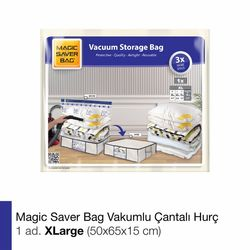 Magic Saver Vakumlu Çantalı Hurç Xlarge