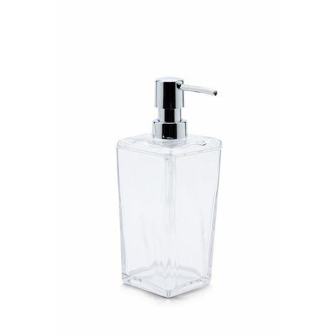 Primanova Biga Sıvı Sabunluk - Şeffaf/Krom