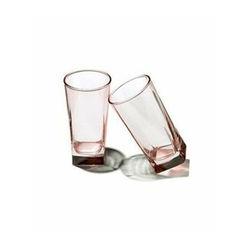 Paşabahçe 420023 6'lı Luna Kahve Yanı Bardağı Takımı - Pembe