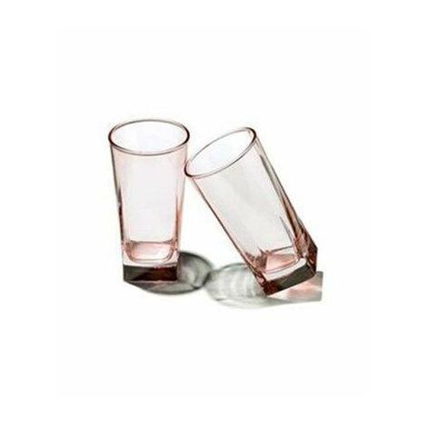 Resim  Paşabahçe 420023 6'lı Luna Kahve Yanı Bardağı Takımı - Pembe