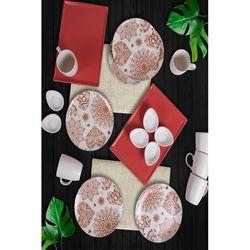 Keramika 20 Parça 6 Kişilik Kahvaltı Takımı - Heart