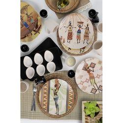 Keramika 26 Parça 6 Kişilik Kahvaltı Takımı - Ethnic Womans