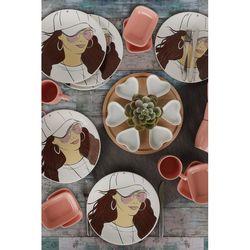 Keramika 25 Parça 6 Kişilik Kahvaltı Takımı - Feminem Gözlük