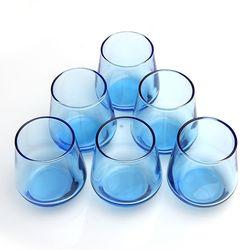 Paşabahçe 420202-6-1097519 Allegra Kahve Yanı Su Bardağı - Mavi