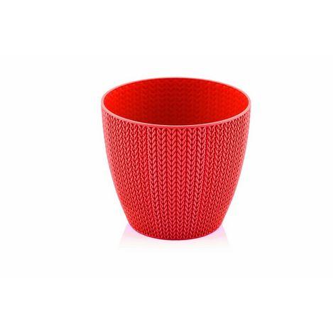 Serinova No-3 Sümela Saksı (Kırmızı) - 2.5 Litre