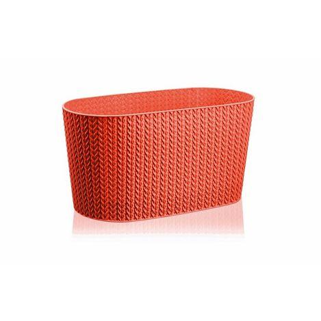 Serinova Sümela Balkon Saksısı (Kırmızı) - 4.7 Litre