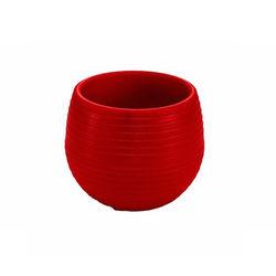 Serinova No-1 Elvan Saksı (Kırmızı) - 0.13 Litre
