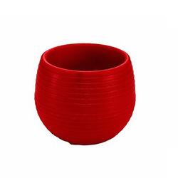 Serinova No-3 Elvan Saksı (Kırmızı) - 0.55 Litre