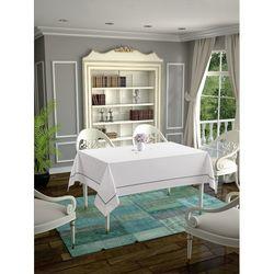 Daisy Ara Biyeli  Masa Örtüsü (Beyaz) - 160x220 cm
