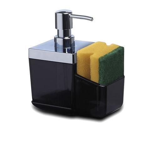 Resim  Primanova Toskana Mutfak Sıvı Sabunluk - Şeffaf Siyah