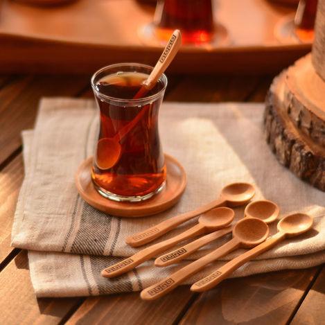 Resim  Bambum Lolli 6'lı Çay Kaşığı