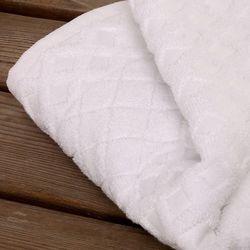 Enchante Glossy Yüz Havlusu (Beyaz) - 50x70 cm