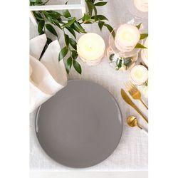 Keramika Ege 1 Parça Servis Tabağı (Açık Gri) - 20 cm