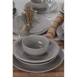 Keramika Bulut/Ege 24 Parça Yemek Takımı - Açık Gri