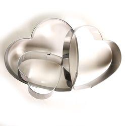 Fackelmann Fackelmann Zenker 3'Lü Metal Kalp Şekilli Kurabiye Kesici - 2,4 cm