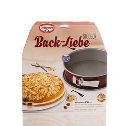 Dr.Oetker Dr.Oetker Back-Liebe Bicolor Kelepçeli Kek Kalıbı - 26 cm