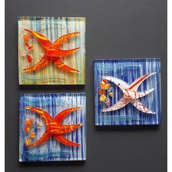 Füzyon Deniz Yıldızı Cam Gider Süsü (Asorti) - 15x15 cm