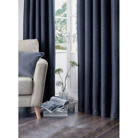 Premier Home Nadia Fon Perde (Lacivert) - 140x270 cm