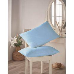 Açelya Penye 2'li Yastık Kılıfı (Mavi) - 50x70 cm