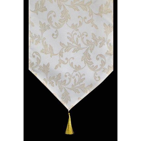 Resim  Giz Home Runner (Sarı Desenli) - 33x183 cm