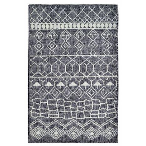Giz Home 2724 Scandic Halı (Antrasit) - 80x140 cm