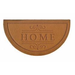 Giz Home Parga Yarımay Kapı Paspası (Kahve) - 40x75 cm