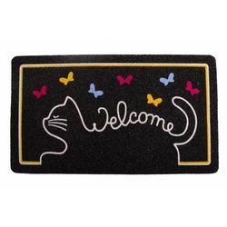 Giz Home İtalyan Kokardo Cat Welcome Kapı Paspası - 40x70 cm
