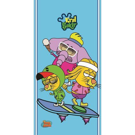 Hobby Kral Şakir Plaj Havlu V1 - 70x140 cm