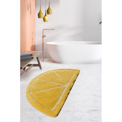 Resim  Chilai Home Limon Banyo Halısı - Sarı