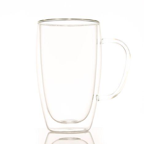 Resim  Perotti Çift Cidarlı Latte Bardağı - 450 ml