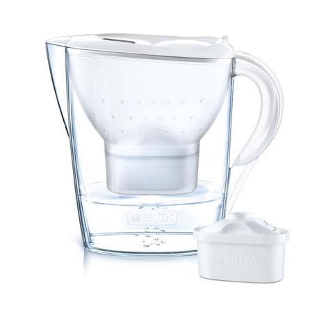 Resim  Brita Marella XL Plus Filtreli Su Arıtmalı Sürahi - Beyaz