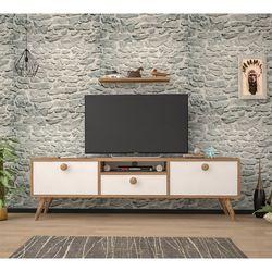 Just Home Raven 160 Cm Tv Ünitesi - Atlantik Çam / Beyaz