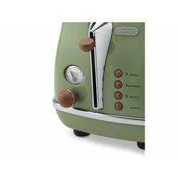 Delonghi CTOV2103.GR Icona Vintage Ekmek Kızartma Makinesi - Yeşil