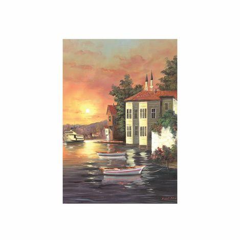 Doku Tablo ISBO-433 İstanbul-1 Kanvas Tablo